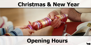 Christmas and New Year Opening Hours 2012-2013
