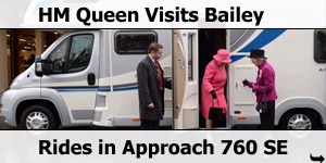 HM Queen Visits Bailey of Bristol