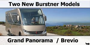 New Busrtner Grand Panorama and Brevio Motorhome Models