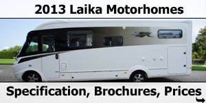 2013 Laika Motorhome Specifications Brochures Pricelists