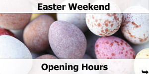 2013 Easter Weekend Opening Hours