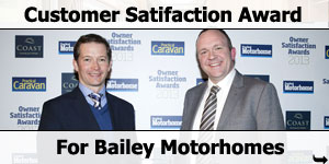 Bailey Win Customer Satisfaction Award