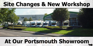 Changes onsite at Southdowns Motorhome Centre
