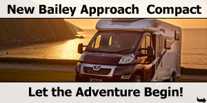 Bailey Launch New Bailey Approach Compact Motorhome