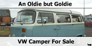 VW Camper Van For Sale