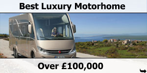 Burstner Grand Panorama Best Motorhome Over �100,000