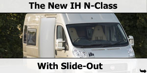 IH Motorhomes Launch New Innovations
