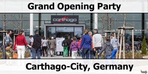 Carthago-City Grand Opening Party
