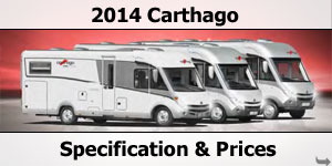 2014 Carthago Motorhome Specification & Prices