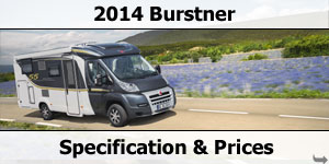 2014 Burstner Motorhome Specification & Prices