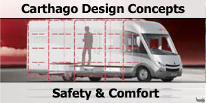 Carthago Motorhome Safety & Comfort Design Concepts