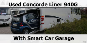 Used Concorde Liner 940G Smart Car Garage For Sale