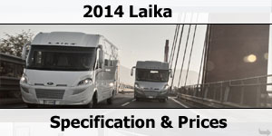 2014 Laika Motorhome Prices & Specifications
