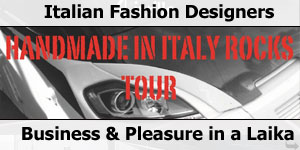 Made in Italy Tour Rocks Tour in Laika Rexosline Motorhome