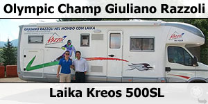Giuliano Razzoli Choses Laika 5001SL For Ski Season Accomodation