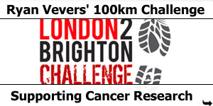 Ryan Vevers Takes on 100kn London2Brighton Challenge