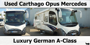 Used Carthago Opus 5.2 Mercedes 3.0L Mercedes Motorhome For Sale