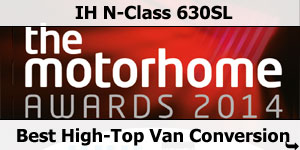 IH N-Class 630SL Winner Best High-Top Van Conversion 2014 Motorhome Awards