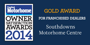 Practical Motorhome Magazine Gold Customer Satisfaction Awards 2014