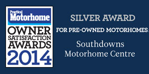 Practical Motorhome Magazine Silver Customer Satisfaction Awards 2014