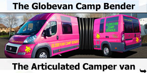 The Globevan Camp Bender - The World's First Articulated Motorhome