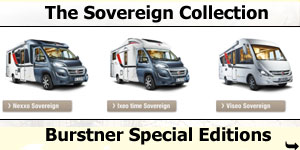 Burstner Sovereign Collection Special Editions