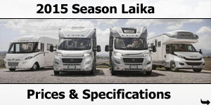 2015 Season Laika Specifications & Prices