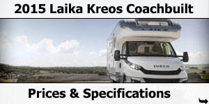 2015 Season Laika Kreos Coachbuilt Specifications & Prices