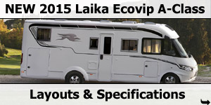 2015 Season Laika Ecovip A-Class Specifications & Prices