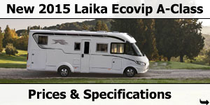 2015 Season Laika Kreos A-Class Specifications & Prices