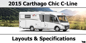 2015 Carthago Chic C-Line Motorhomes Specifications & Prices
