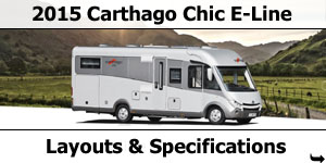 2015 Carthago Chic E-Line Motorhomes Specifications & Prices