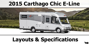 2015 Carthago Chic S-Plus Motorhomes Specifications & Prices