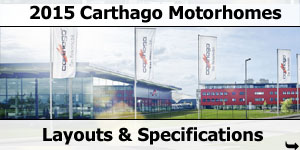 2015 Season Carthago Motorhomes Specifications & Prices