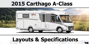 2015 Season Carthago A-Class Motorhomes Specifications & Prices
