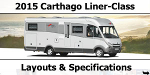2015 Season Carthago Liner-Class Motorhomes Specifications & Prices