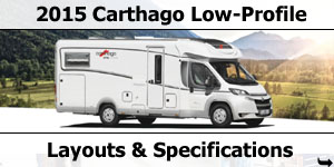 2015 Season Carthago Low Profile Motorhomes Specifications & Prices