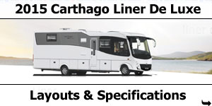 2015 Carthago Liner De Luxe Motorhomes Specifications & Prices