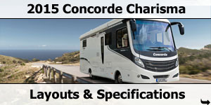 2015 Season Concorde Charisma Specifications & Prices