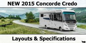 2015 Season Concorde Credo Specifications & Prices