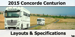 2015 Season Concorde Centurion Specifications & Prices