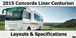 2015 Season Concorde Centurion Liner Specifications & Prices