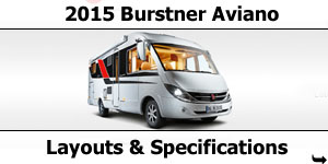 2015 Season Burstner Aviano Specifications & Prices