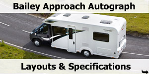 2015 Season Bailey Approach Autograph Motorhomes Specifications & Prices