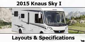 2015 Season Knaus Ski I Motorhomes Specifications & Prices