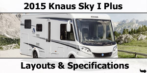 2015 Season Knaus Ski I Plus Motorhomes Specifications & Prices