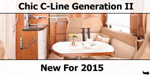 2015 Carthago Chic C-Line Generation II Launched