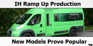 IH Motorhome Ramp Up Production Prior to NEC Motorhome Show