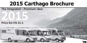 2015 Carthago Motorhome Brochure Download