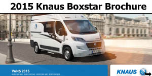2015 Knaus Boxstar Vans Brochure Download